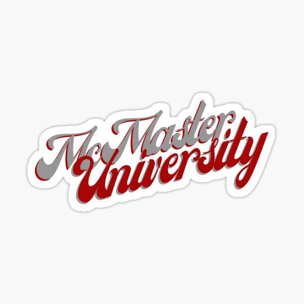 McMaster University Sticker