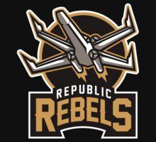 Republic Rebels   Unisex T-Shirt