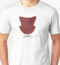 Arne Jacobsen Egg Chair T-Shirt
