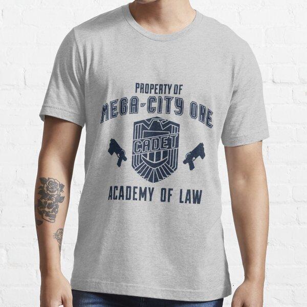 Mega-City 1 Academy shirt Essential T-Shirt
