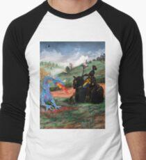 Slaying The Dragon Men's Baseball ¾ T-Shirt