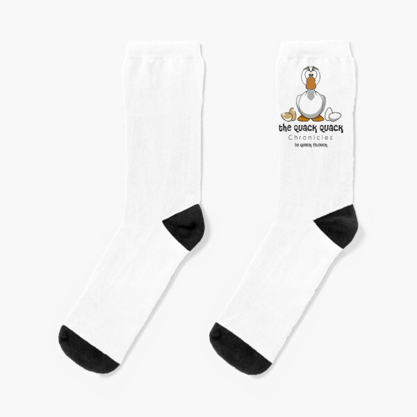 CuteDuck Unisex Funny Casual Crew Socks Athletic Socks For Boys Girls Kids Teenagers