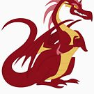 My little Pony - Red dragon by RainbowCake