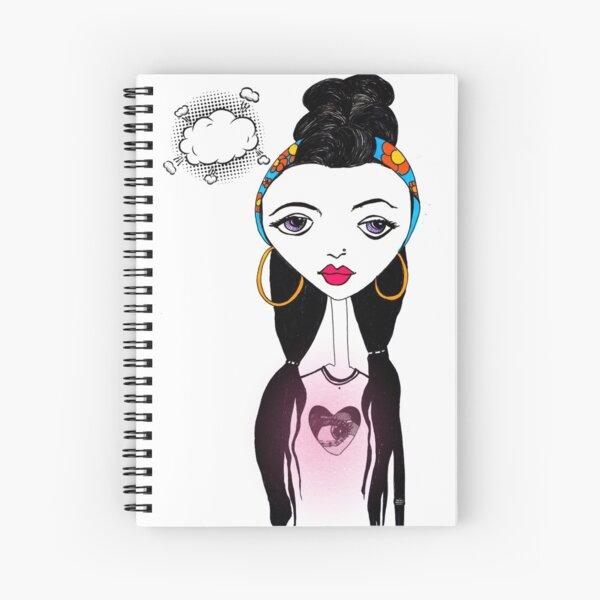 La Flor II Spiral Notebook