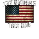USA Flag - Try Burning This One by flip20xx