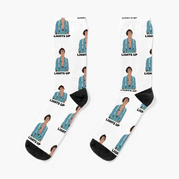 Harry Styles Lights Up Socks