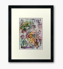 Visual Language Framed Print