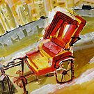 rickshaw by limon