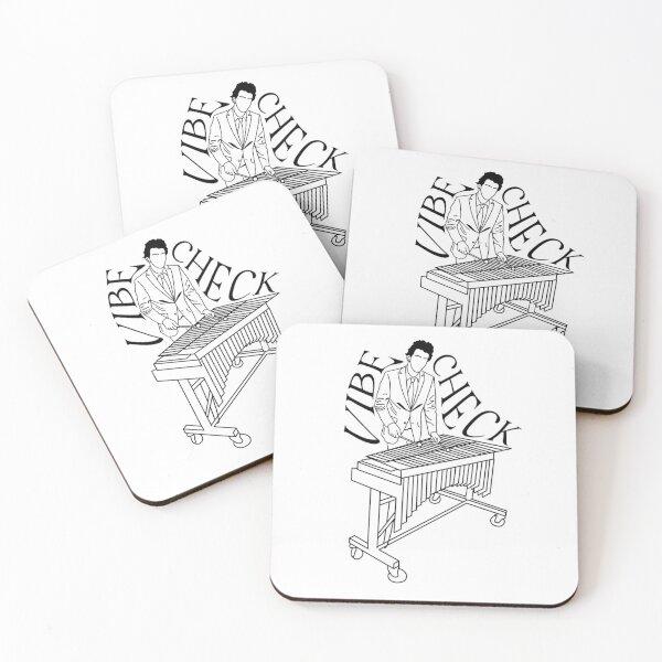 vibe check Coasters (Set of 4)
