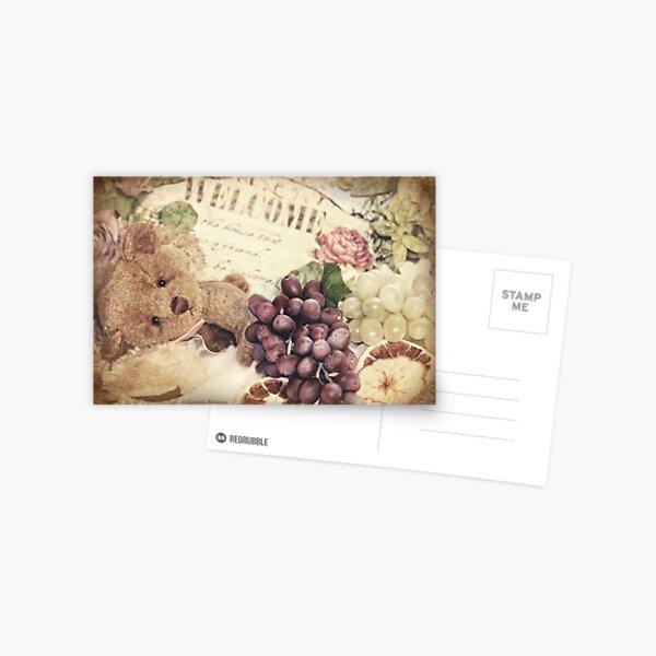 Soft little bear Postcard