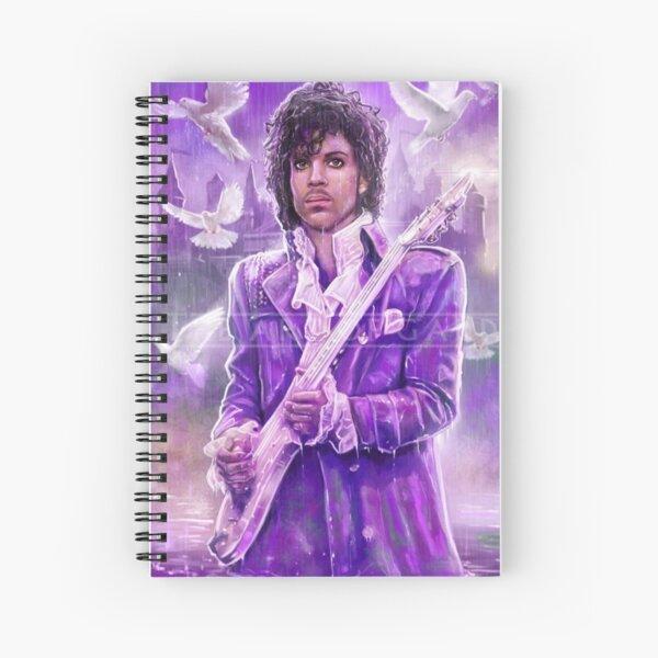 Prince Musician art Spiral Notebook