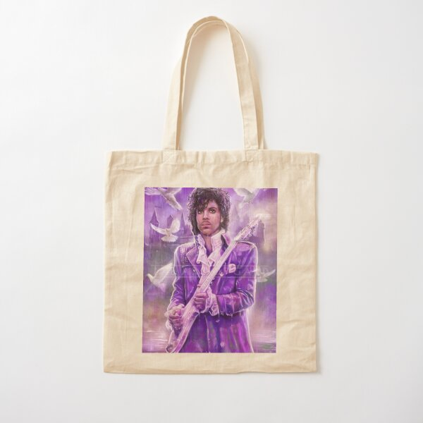 Prince Musician art Cotton Tote Bag