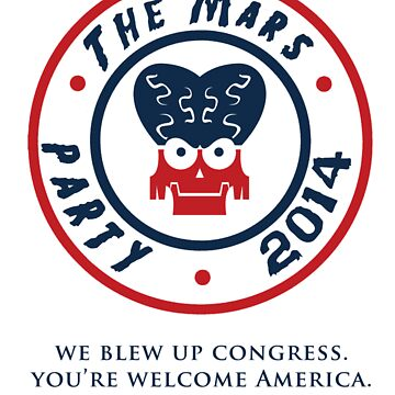 The Mars Party 2014 by PremierGrunt