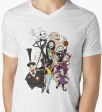 the nightmare before christmas Men's V-Neck T-Shirt