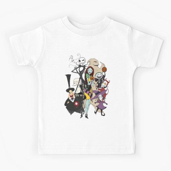 Halloween Christmas Night-Mar-e Jac-k Moon Pumpkin Kids T-Shirts Long Sleeve Tees Fashion Tops for Boys//Girls