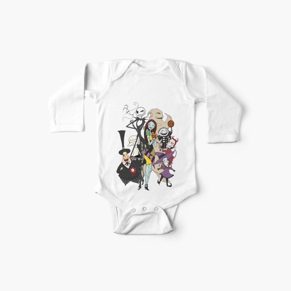 the nightmare before christmas Baby One-Piece