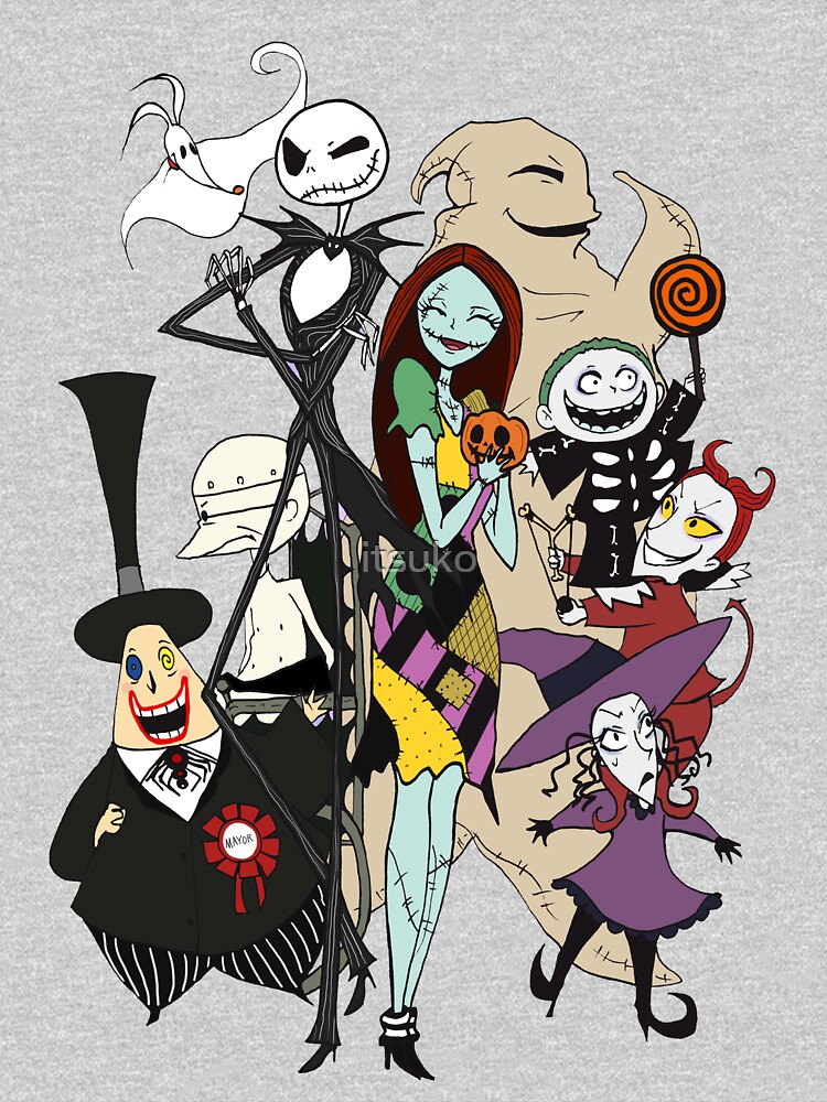 the nightmare before christmas by itsuko