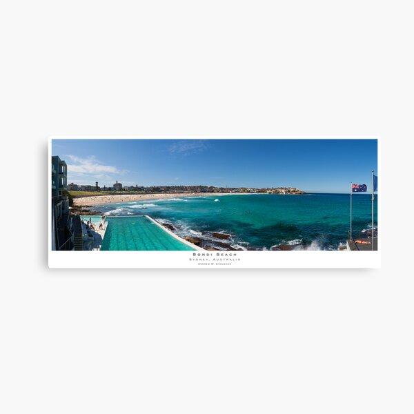 Bondi Beach, Sydney, Australia Canvas Print