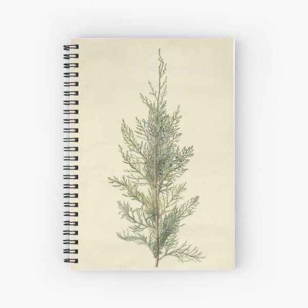 Botanical Juniper Spiral Notebook