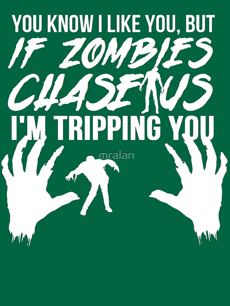 You're Going Down With Zombies by mralan