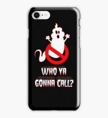 Who ya gonna call? iPhone Case/Skin