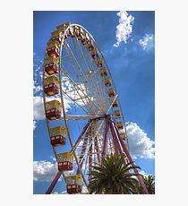 The Big Wheel 2 Photographic Print