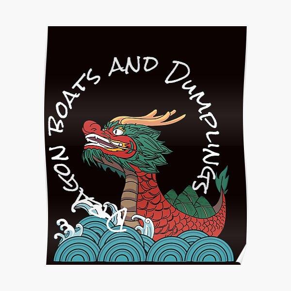 Dragon boats and Dumpling Poster