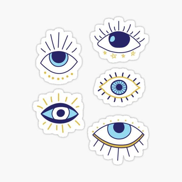 evil eye sticker pack Sticker