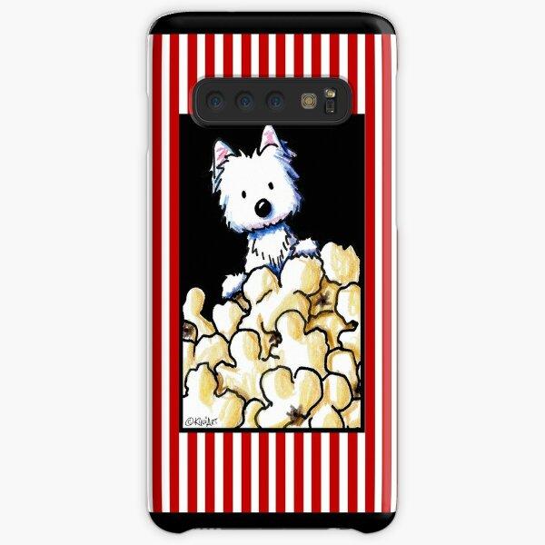 Westie Popcorn Lover Samsung Galaxy Snap Case