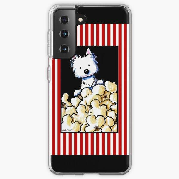 Westie Popcorn Lover Samsung Galaxy Soft Case