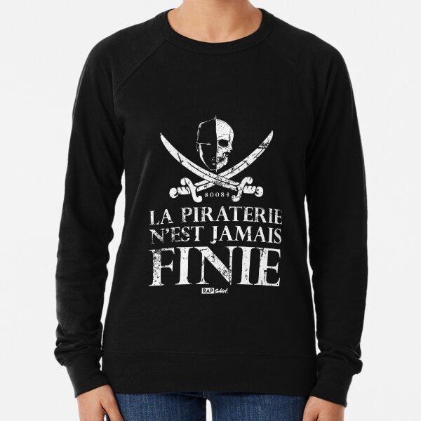 Booba - La piraterie n'est jamais finie Sweatshirt léger