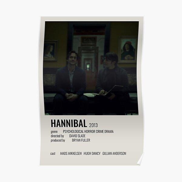 Hannibal minimalist poster Poster