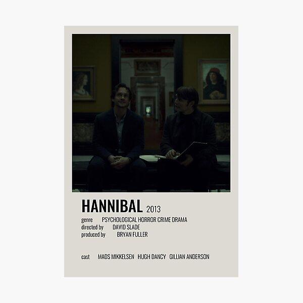 Hannibal minimalist poster Photographic Print