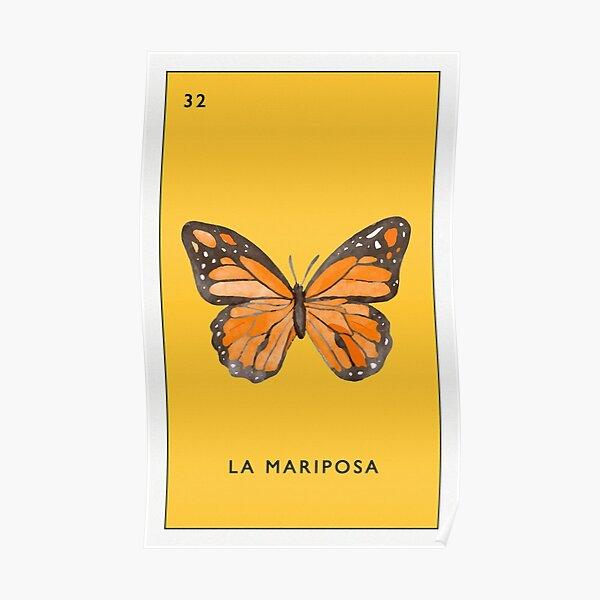 Lotería - La Mariposa Poster
