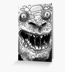 Rogues Gallery - Killer Croc Greeting Card