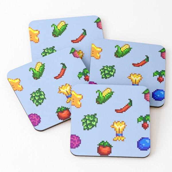Stardew Valley Summer Crops Bundle Coasters (Set of 4)