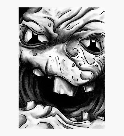 Rogues Gallery - Clayface Photographic Print