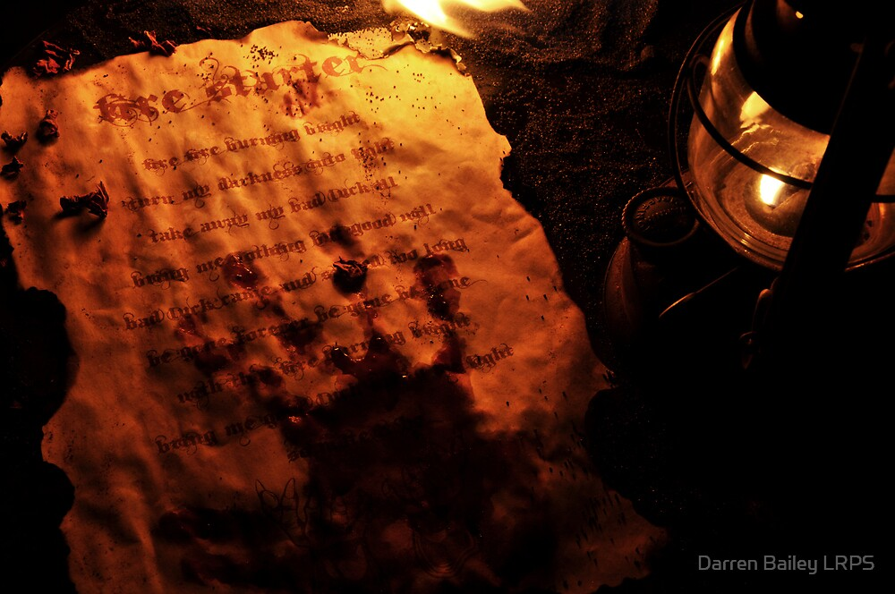 Firestarter (a page from the book of shadows) by Darren Bailey LRPS