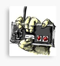 Zombie NES Canvas Print