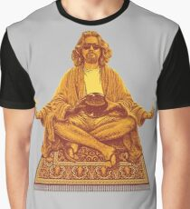 The Dude Budha The Big Lebowski Graphic T-Shirt