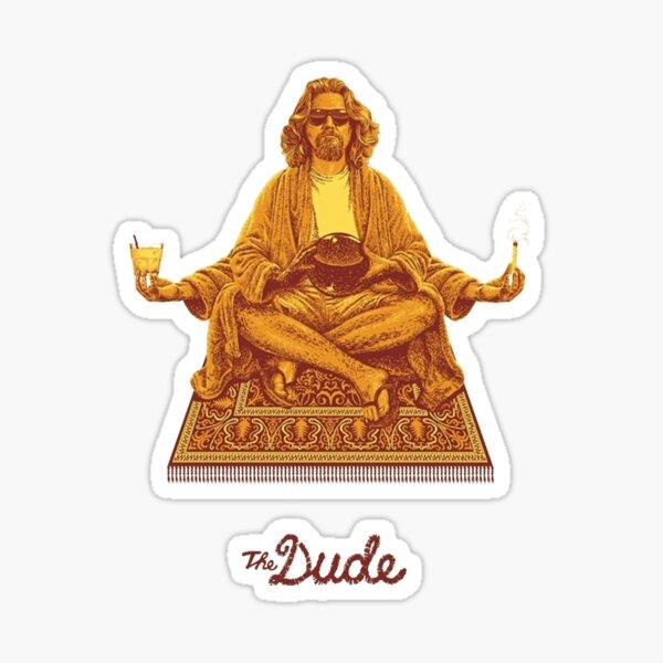 The Dude Budha The Big Lebowski Sticker