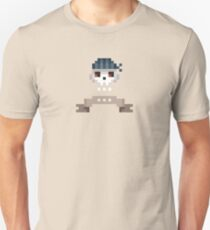 Pixel Pirate Skull Unisex T-Shirt