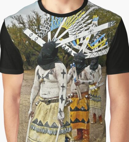 Apache Gaan Dancers Graphic T-Shirt
