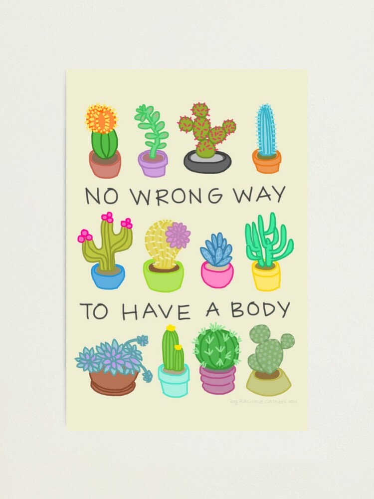 Alternate view of No Wrong Way to Have a Body Photographic Print