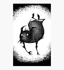 Sketch Gremlin Photographic Print