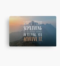 The Alchemist Quote Canvas Print