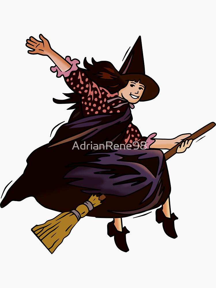 Halloweentown Marnie Flying by AdrianRene98