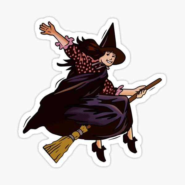 Halloweentown Marnie Flying Sticker