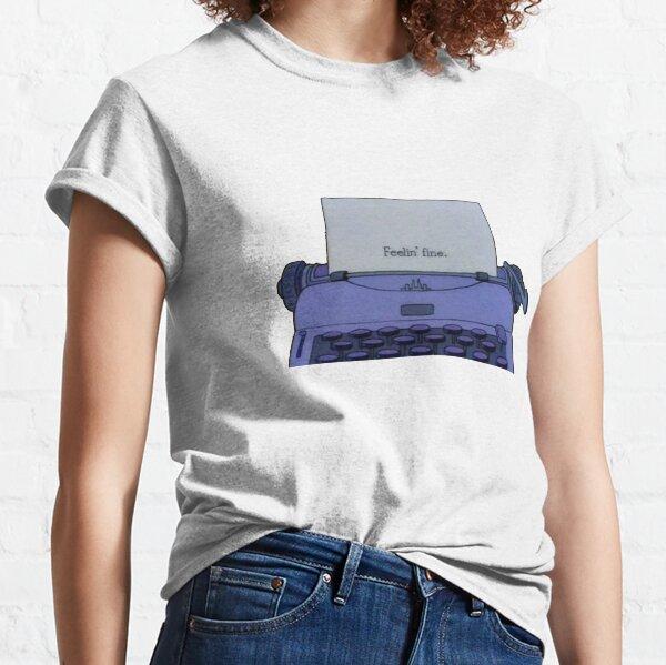 Simpsons Feelin' Fine The Shining Classic T-Shirt