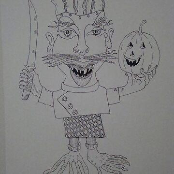 Halloween Monster Chef by JoseTorres